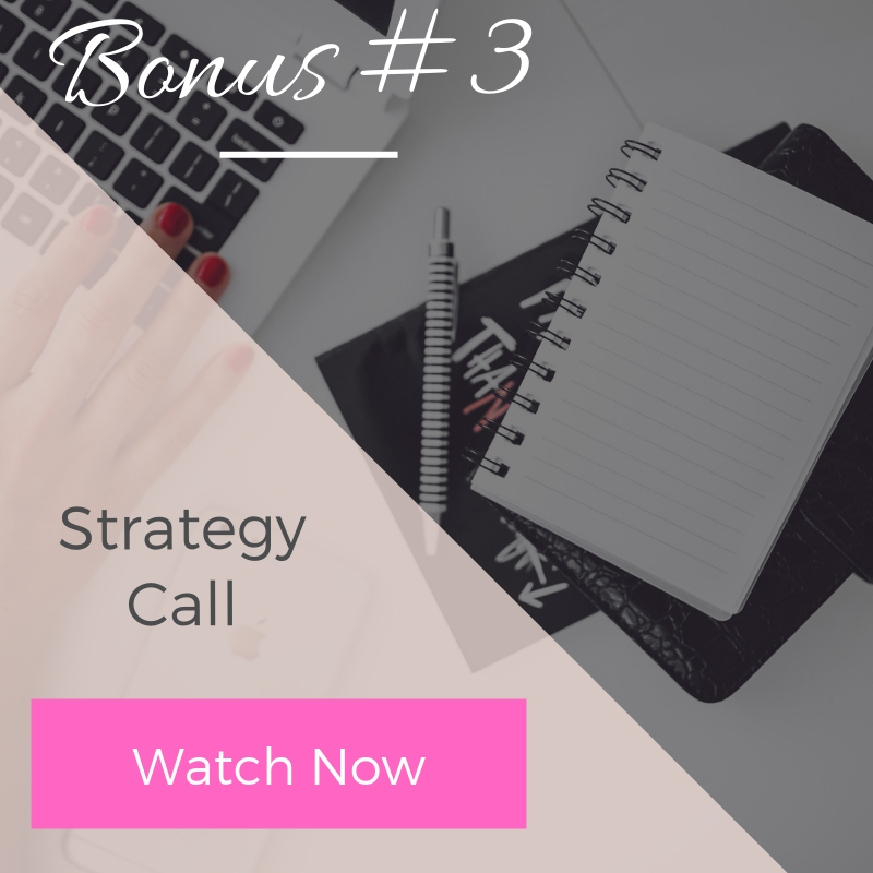 Bonus #3 - Strategy Call | The Savvy Agent