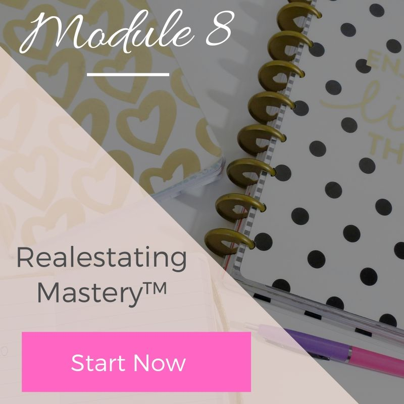 Module 8 - Realestating Mastery | The Savvy Agent